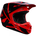 Kask Fox V1 Red Helmet MX