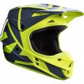 Kask Fox V1 Yellow Helmet MX