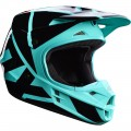Kask Fox V1 Green Helmet MX