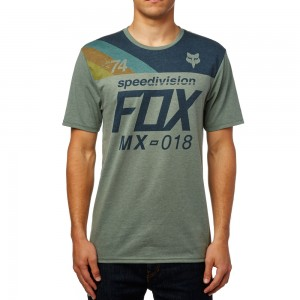 T-shirt Fox Accordingly s/s Tech Tee
