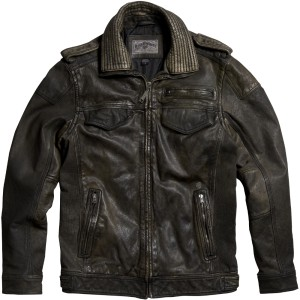 Kurtka Fox Deluxe Aces Leather Jacket